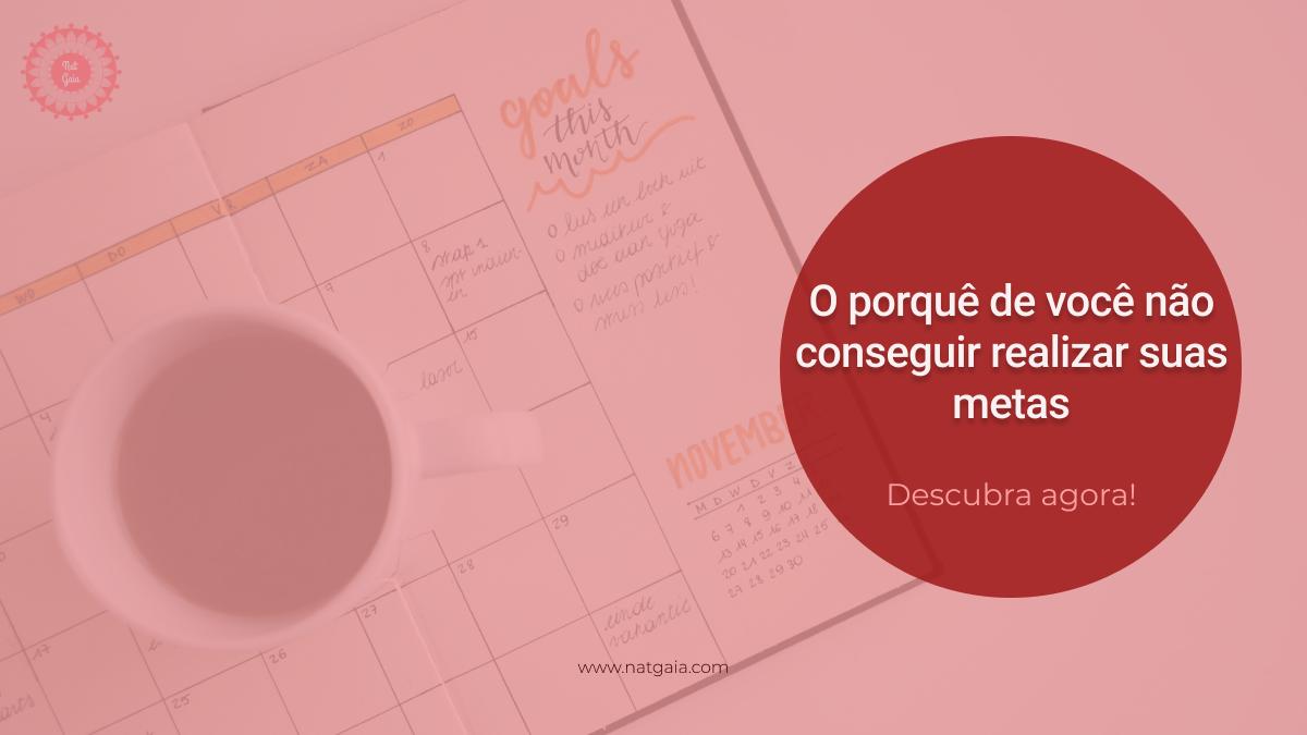 Read more about the article O porquê de você não conseguir realizar suas metas!